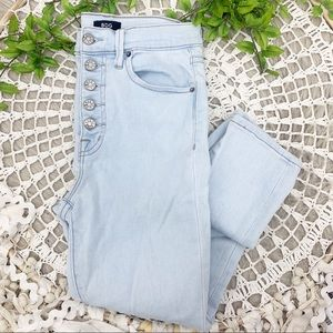 Urban Outfitters BDG Button Fly High Rise Jeans